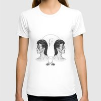 david bowie T-shirts featuring Bowie  by Tate Eknaian