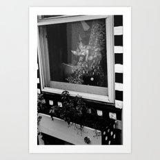 Pinwheels in the Window Art Print