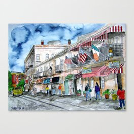 Savannah Georgia Canvas Print