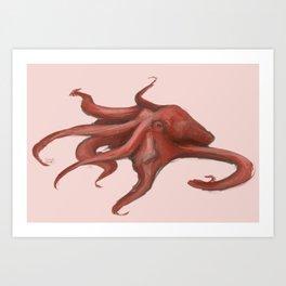 Some Octopus Art Print