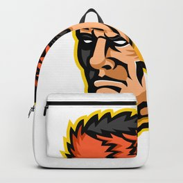 Davy Crockett Mascot Backpack