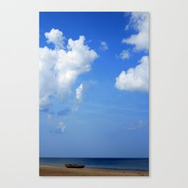 boat> Canvas Print