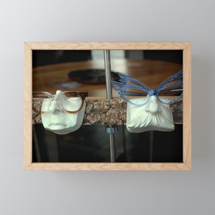 The Brown Nose - Feeling Blue Framed Mini Art Print