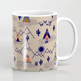 Southwestern Teepee Coffee Mug