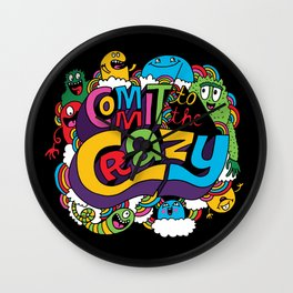 Commit to the Crazy Wall Clock