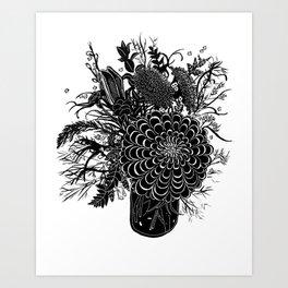 Field Arrangement Art Print