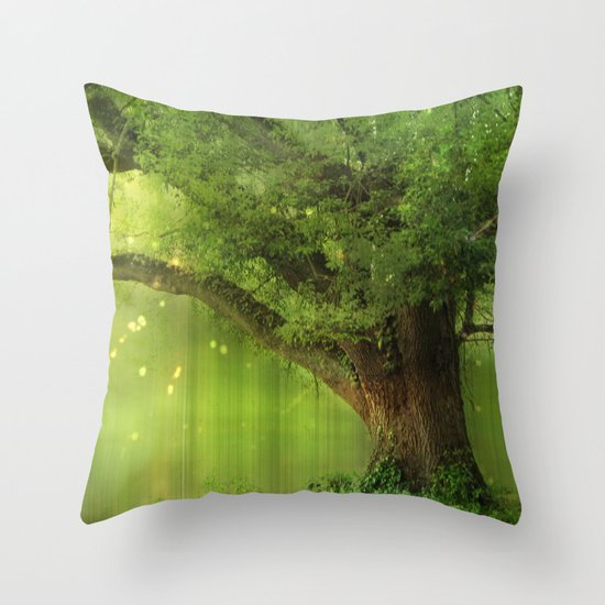 Family Tree Throw Pillow