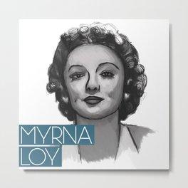 1930s Myrna Metal Print