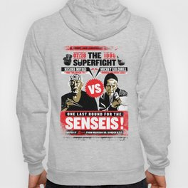 Battle of The Senseis ! When Mickey meets Mr.Miyagi... Hoody