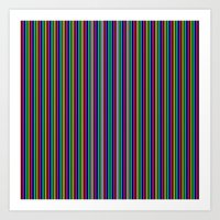 More Stripes Art Print