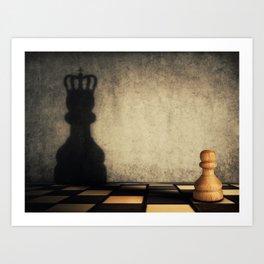 pawn glorification Art Print