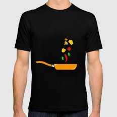 i'm a Chef LARGE Mens Fitted Tee Black