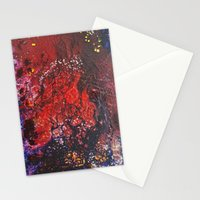 Abstract liquidity. Stationery Cards