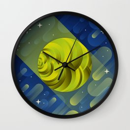 Uranus Wall Clock