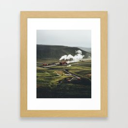 Geothermal Energy Framed Art Print