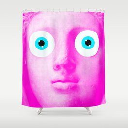 STATUE OOGLE Shower Curtain