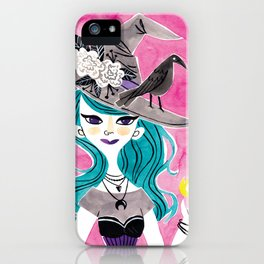 Witchy Girl iPhone Case