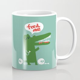 Hungry Hungry Alligator Coffee Mug