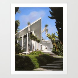 San Diego Modern Pathway Art Print