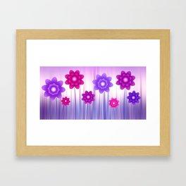 Flower meadow Framed Art Print