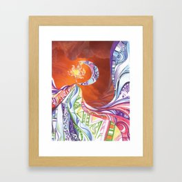 Blissful Harmony Framed Art Print