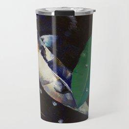 Kumonryu Koi Art Travel Mug