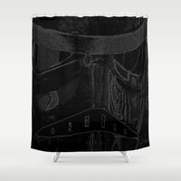 trooper Shower Curtains featuring Trooper by halx