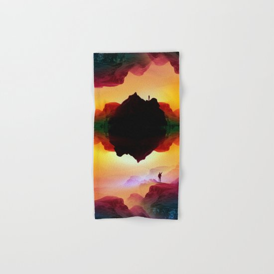 Vibrant Isolation Island Hand & Bath Towel