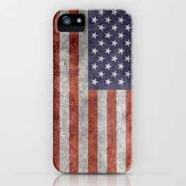 United States of America Flag 10:19 G-spec Vintage iPhone Case