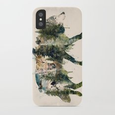Wolf is the Pride of Nature iPhone X Slim Case