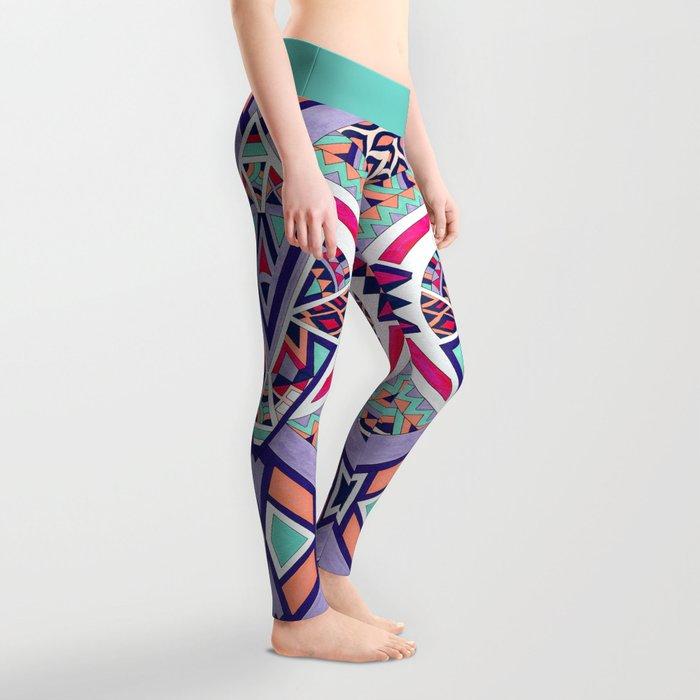 Abstract Journey II Leggings