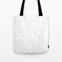 the strokes Tote Bags featuring Strokes by Aferova