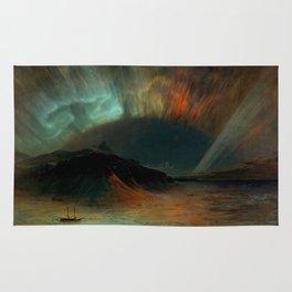 Aurora Borealis by Frederic Edwin Church Rug