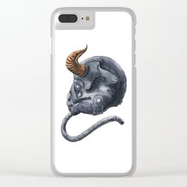 Bull Squadron Clear iPhone Case