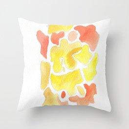 171115 Colour Shape 1  abstract shapes art design  abstract shapes art design colour Throw Pillow