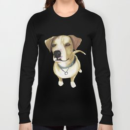 Watercolour Dog Long Sleeve T-shirt