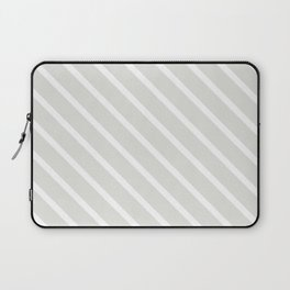 Ice Diagonal Stripes Laptop Sleeve