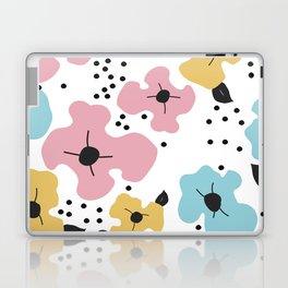 Abstract fowers Laptop & iPad Skin