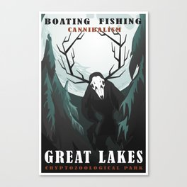 CPS Great Lakes Canvas Print