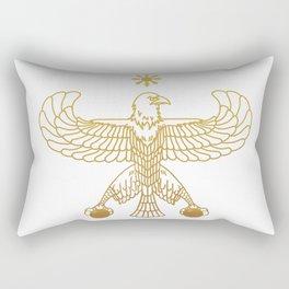 Golden Eagle Rectangular Pillow