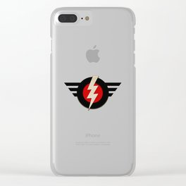 Enclave Airforce Clear iPhone Case