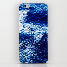 Waves of change iPhone Skin