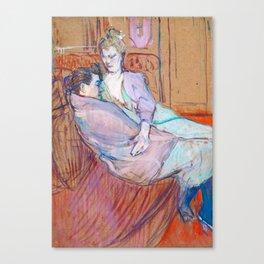 """Henri de Toulouse-Lautrec """"The Two Friends"""" Canvas Print"""