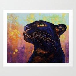 Panther Colors Art Print