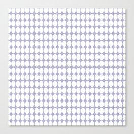 vanille gray Canvas Print