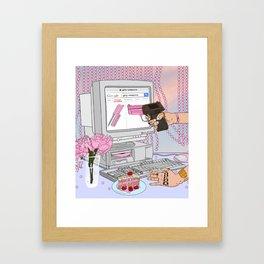Girly Weapons Framed Art Print