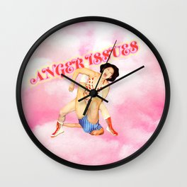 Anger Issues // Don't knock 'em till you try 'em! Wall Clock