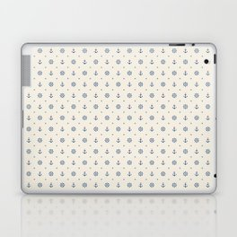Anchors and Hearts Laptop & iPad Skin