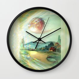 illustration for school textbook Wall Clock
