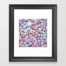 Hearty Love Framed Art Print